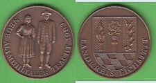Eichstätt Medaille 1983 Neue Altmühltaler Tracht unedel ca. 35 mm stampsdealer