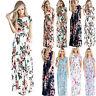 Bohemian Women Floral Long Maxi Dress Summer Evening Party Beach Casual Sundress