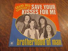 45 tours BROTHERHOOD OF MAN grand prix eurovision 76 save your kisses for me