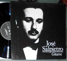 JOSE SALPIETRO GITARRE LP LEO BROUWER SANTIAGO NAVASCUES RODRIGO CHOPIN (GUITAR)