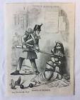1852 Zeitschrift Gravur ~ Frankreich Is Tranquil Französische Armee