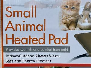 "NEW K&H Mfg. DOG Cat BUNNY CHICKS Small Animal Heated Pad 9""x12"" Indoor/Outdoor"