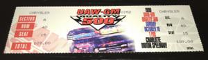 VINTAGE NASCAR 10/10 1999 UAW-GM QUALITY 500 TICKET STUB JEFF GORDON WIN
