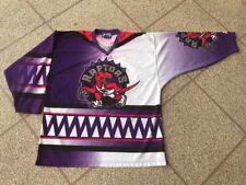 Vintage Toronto Raptors Sublimated NBA Starter Hockey Jersey Men's XL