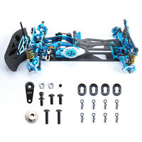 Alloy&Carbon Frame Chassis Body G4 Kit RC 1:10 Car Drift Racing Model Car 4WD