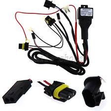 12V 35W/55W Car HID Bi Xenon H13/9008 Hi/Lo Fuse Relay Wiring Harness Controller