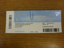 18/01/2015 Ticket: Manchester City u21 V Schalke u21 [Premier League International