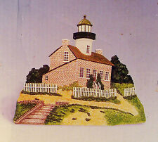 Old Point Loma California Light House 3 Dimensional Decorative Plaque