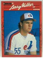 1990 Donruss Larry Walker #578 Rookie Card RC Montreal Expos NM-MINT HOF