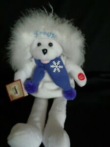"""CHANTILLY LANE 17"""" Connie Talbot Frosty Bear Sings FROSTY THE SNOWMAN-EUC W/TAGS"""