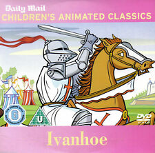 IVANHOE DAILY MAIL PROMO DVD FROM CHILDREN'S ANIMATED CLASSICS