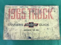OEM, 1965 Chevrolet Truck series 10-30 Owner's Manual Original
