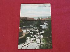 1907 Wolff St. Bridge & Power Dam, Sherbrooke, Quebec Postcard Posted VG