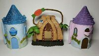 DISNEY STORE MICRO MINI ANIMATOR COLLECTIBLE CASTLES Only