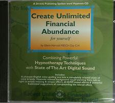 CREATE UNLIMITED FINANCIAL ABUNDANCE - GLENN HARROLD  AUDIO HYPNOSIS CD