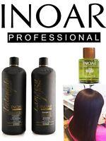 Inoar Marocain Traitement Kératine Brésilien Sèche Cheveux Lissage 100ML Kit