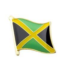 JAMAICA JAMAICAN FLAG ENAMEL PIN BADGE REGGAE RASTA BRAND NEW FREE POST