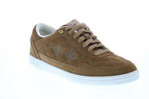 British Knights Quilts BMQUILS-2584 Mens Brown Suede Lifestyle Sneakers Shoes