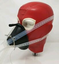 ☢ Anaesthesia Mask Harness - 4 Tail Type - Translucent Silicone Rubber