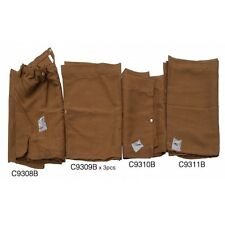 Westfalia curtain set for VW Baywindow Brown as original C9238B