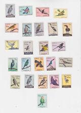 angola 1951 Sc 333/56 birds,set       n1313