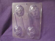 Easter Egg with flowers lollipop chocolate candy molds