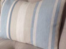 "12x16"" Copricuscino in Laura Ashley Awning Stripe Seaspray blu, Austen Reverse"
