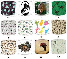 Bambini`S Dinosauri Paralumi, Ideale da Abbinare Carta Parati e Bordi