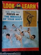 LOOK and LEARN #  78 - THE MIRACLE OF YOUR BODY - JULY 13 1963