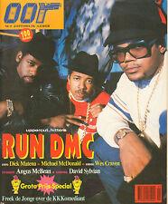 MAGAZINE OOR 1986 nr. 19 - RUN DMC/DICK MATENA/ANGUS MCBEAN