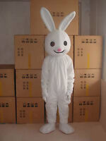 Pretty Rabbit Adult Mascot Costume Festival Party Unisex Cosplay Birthday Outfit