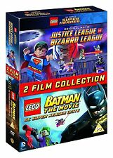 LEGO: Justice League Vs Bizarro / LEGO Batman: The Movie [DVD] [2015] Sealed