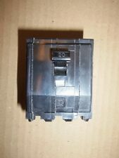New No Box Square D Qob 3 Pole 20 Amp 240V Qob320 Circuit Breaker Black