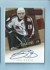 JOE SAKIC 2013/14 PANINI PLAYBOOK AUTO BIOGRAPHY SIGNATURE AUTOGRAPH AUTO
