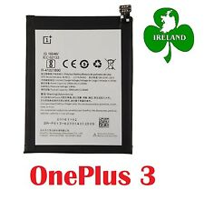 For OnePlus Three 3 New Genuine Battery Replacement BLP613 3000mAh 3.8V 11.02Wh