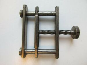 Vintage press to glue and hold open-end watch bands