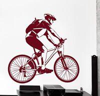 Vinyl Decal Racing Bike Biker Cool Sport Decor z3845