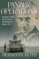 Panzer Operations: Germany's Panzer Group 3 During the Invasion of Russia, 1941,