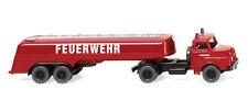 WIKING 086142 H0 1:87 - Pompieri - Großtanklöschfahr- materiale (MAN)