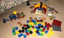 Lego Duplo 4686 Little Farm / 5606 My First Train / Extra Bricks/Figures/Plates