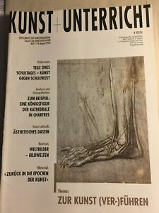 Kunst und Unterricht, Pädagogische Zeitschrift für Kunstpädagogik, Vers.Ausgaben