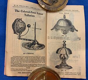 Welch Company School catalog circa 1915  Terrestrial Globes
