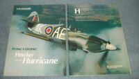 """British Hawker Hurricane Vintage History Info Article """"Flying a Legend"""""""