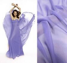 4Yds silk chiffon Fabric Cloth Sheer HEIRLOOM LILAC Online Sale #101 Soft Thin