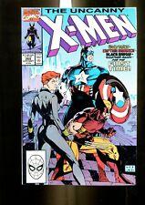 UNCANNY X-MEN 268 (9.2) JIM LEE COVER CAP COVER MARVEL (b045)