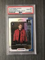 2019-20 Hoops Luka Doncic Backstage Pass Silver Holo PSA 10 POP 4