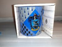 """New Harry Potter """"Ravenclaw"""" Blue Coffee Mug in Gift Box 14 oz New!"""