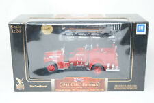 NEW Yat Ming Road Signature 1941 GMC Firetruck 1:24 Scale w 24K Gold Plated Coin
