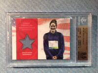 """2012 Topps MISSY """"the missle"""" FRANKLIN Relic Beckett Graded Card 9.5 Gem Mint"""