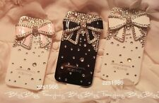 1PCS iphone 5 Case Crystal iphone 5 case Bling iphone 5 bow case iphone 5 cover